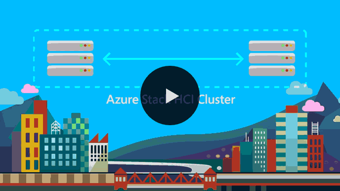 Disaster recovery through stretch clustering with Azure Stack HCI