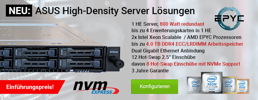 ASUS High-Desnity Server