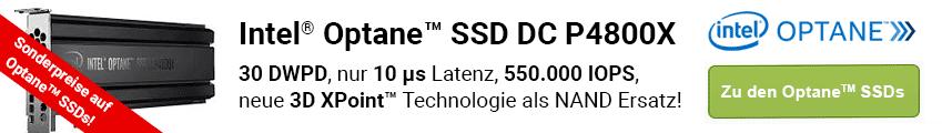 Profitieren Sie von den Vorteilen der neuen Intel Optane SSDs!