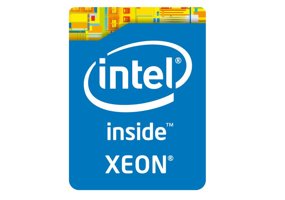 Das neue Logo für die Intel Xeon Prozessoren der Haswell Generation