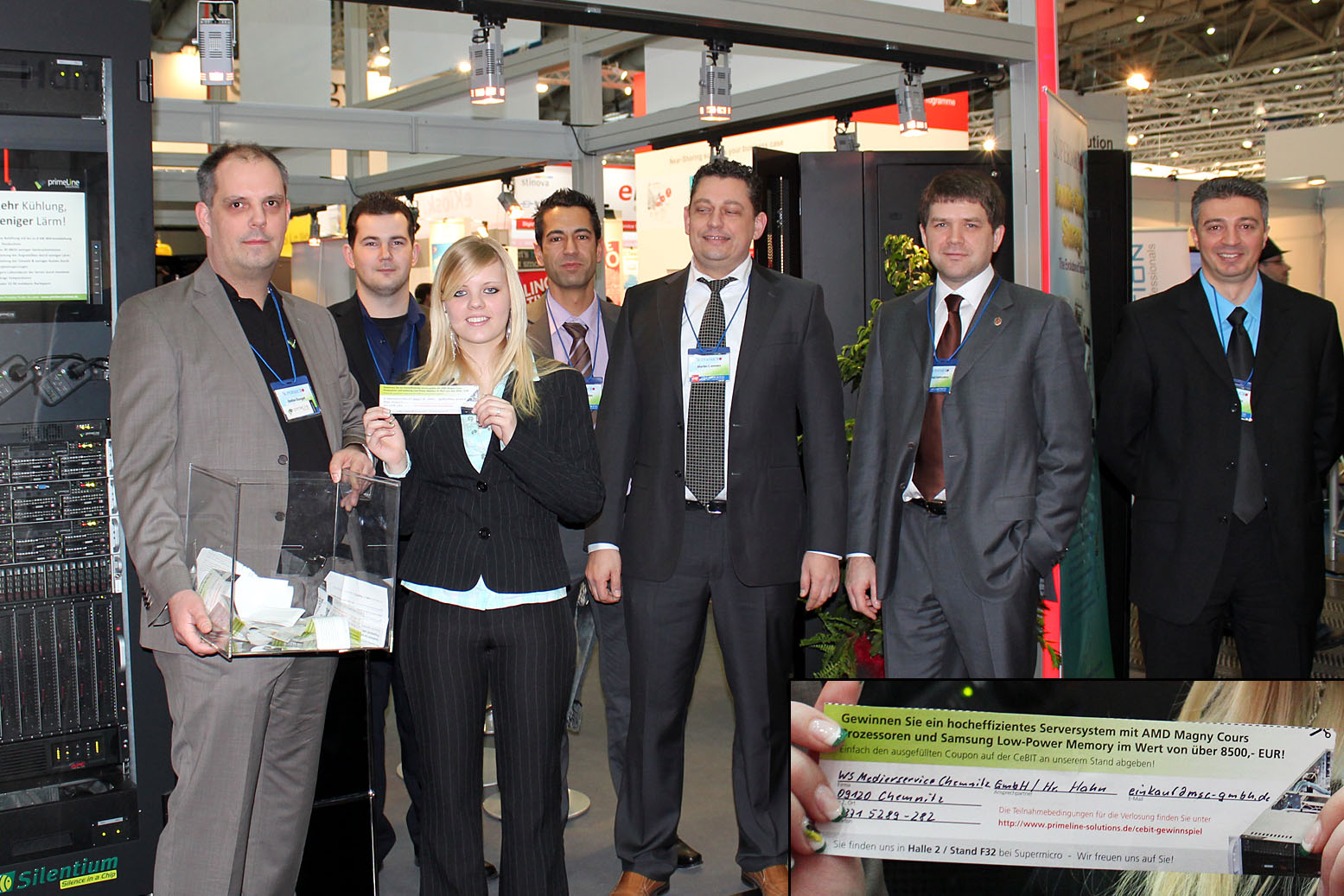 CeBIT 2011 - Verlosung High-Efficiency Serversystem mit AMD Opteron 12-Core Prozessoren