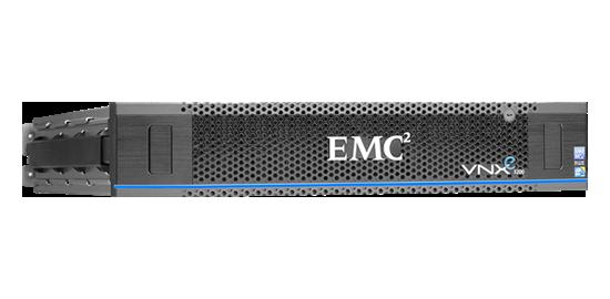EMC VNXe3200 Hybrid Storage - Vorderansicht