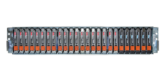 EMC VNXe3200 Hybrid Storage -  Vorderansicht offen