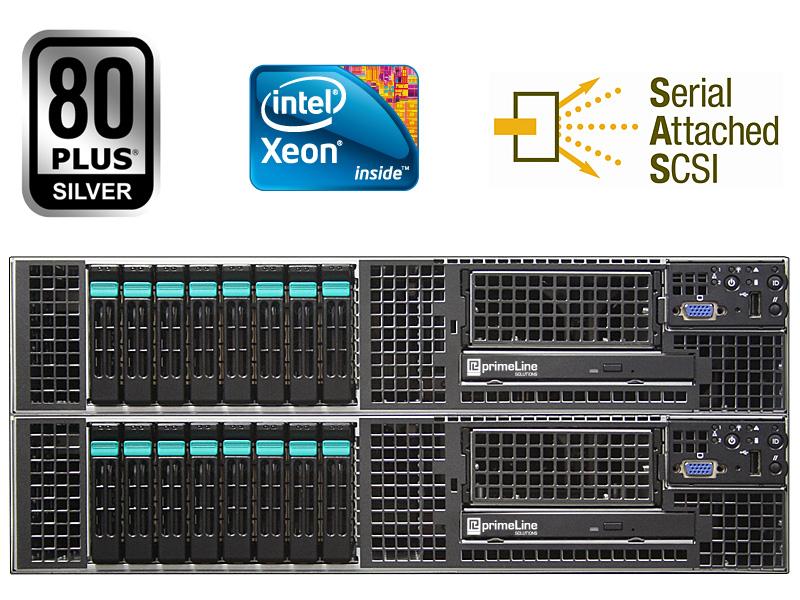 primeLine egino i-Series HA-2082-i-5520 Cluster, zertifiziert für Stratus Avance
